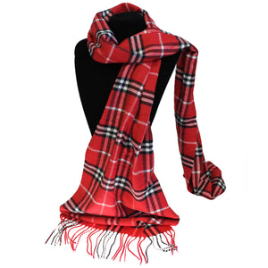Men in Tartan Scarf - Mr Miner Royal