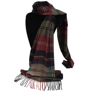 Men in Tartan Scarf - Mr Classic