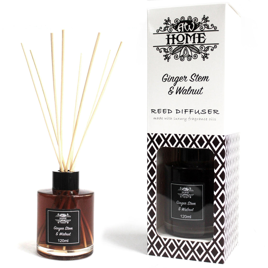 120ml Reed Diffuser - Ginger Stem & Walnut