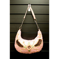 Retro Shimmy Bag - Pink