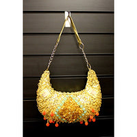 Retro Shimmy Bag - Gold