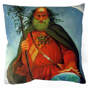 Vintage Cushion Cover-Earth Wizard