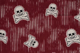 Red Cotton Skulls