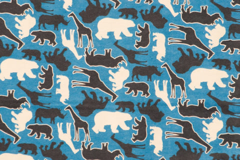 Flannel Zoo Animals