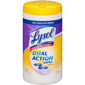 Lysol 80 ct anti bacterial wipes