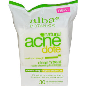 Alba Acne Clean Towelette 30 ct