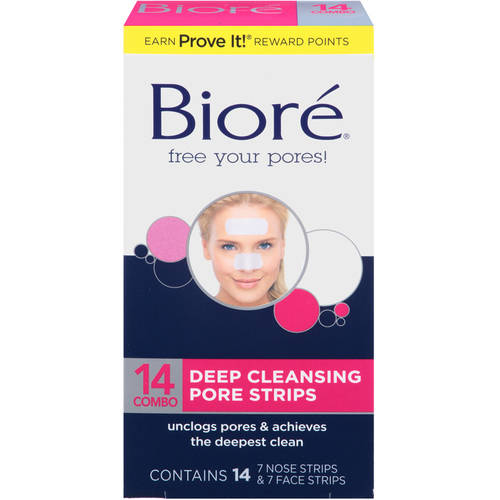 Biore Deep Clean Strips 14