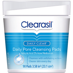 Clearasil Daily Pore  Pads 90ct