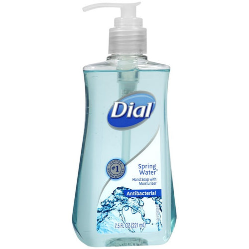 Dial Spring Water 7.5 oz hand soap