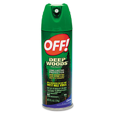 Deep Woods 6oz Aero 34% deet