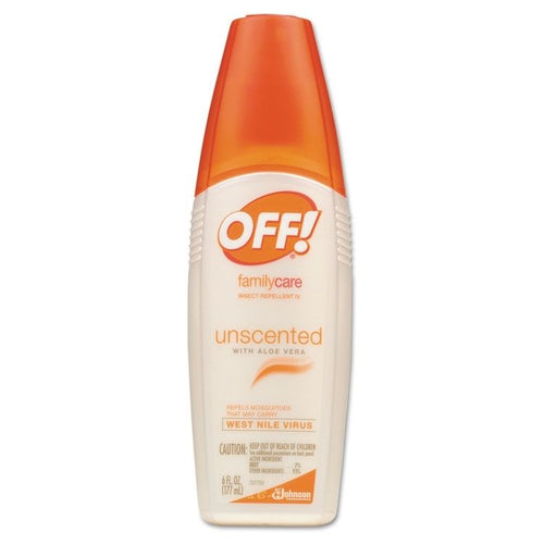Off Family Pump 6oz NO DEET