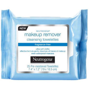 Neutrogena M/up Remover 25ct