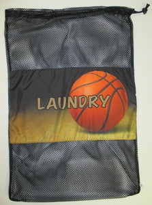 Basketball Laundry Bag
