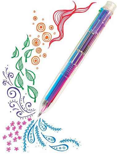 Six Neon Colors in 1 Pen