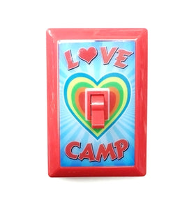 Love Camp Light Switch, bat inc