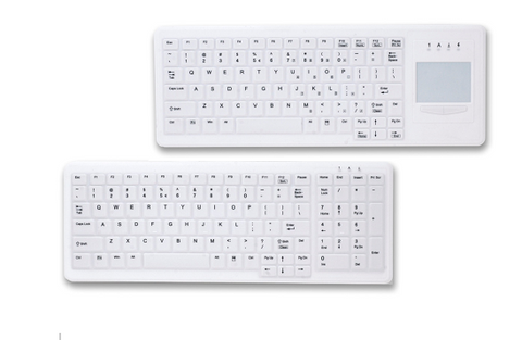Crest HealthCare Silicone Sealed Infection Control Wired Keyboards