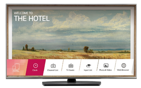 LG 49UU770H Commercial Hotel Grade 4K Pro:Centric Smart Pro:Idiom LED HDTV