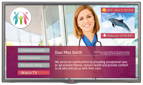 "LG 28LT572MBUB 28"" Commercial Hospital Grade LED HDTV"