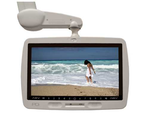 PDI P19 medTV19 Medical Grade Pro:Idiom HealthCare Arm Mounted HDTV w/ Power over Coax