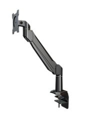 DSA11C Crimson Single Monitor Adjustable Arm with Edge Clamp Base