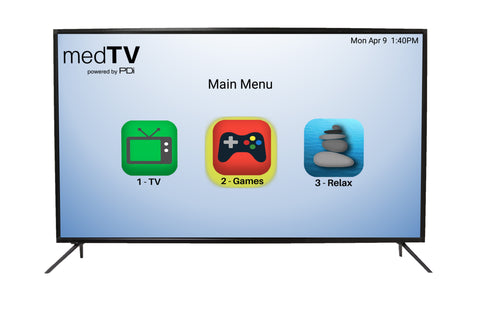 "PDI A55B 55"" Medical HealthCare Grade Pro:Centric LED HDTV"