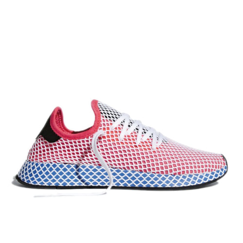 ADIDAS DEERUPT SOLAR RED BLUEBIRD
