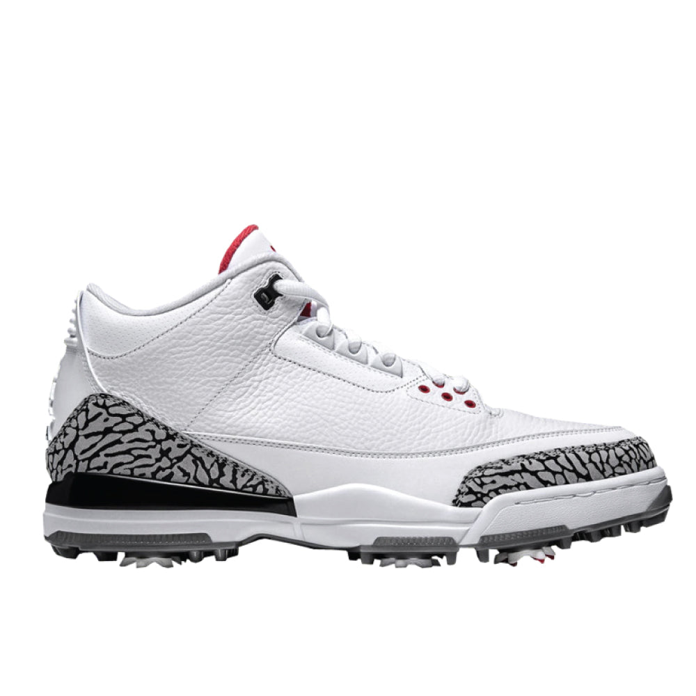 AIR JORDAN 3 RETRO GOLF WHITE CEMENT