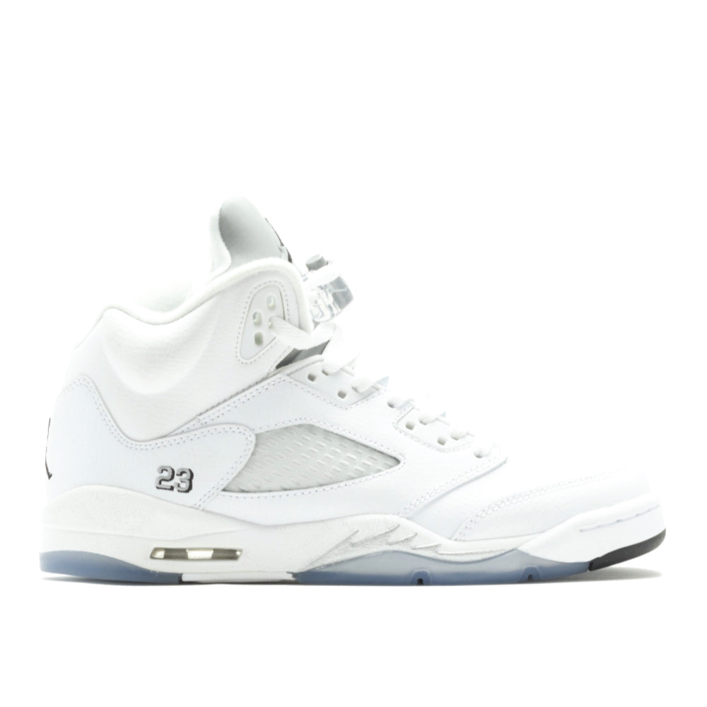 AIR JORDAN 5 RETRO WHITE METALLIC 2015