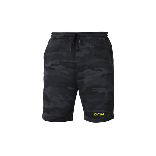 STEALTH CAMO FLEECE SHORTS