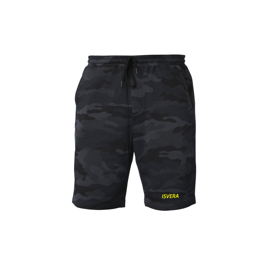 PREORDER // STEALTH CAMO FLEECE SHORTS