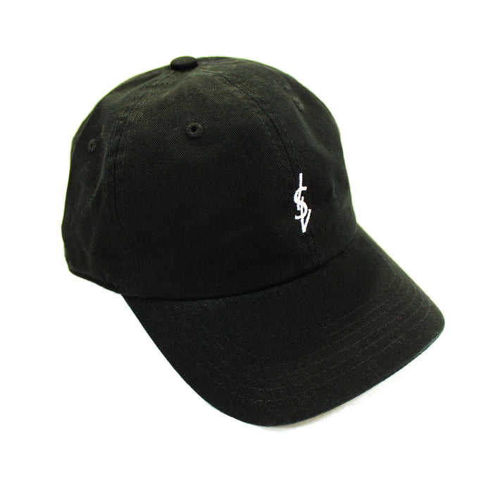 ISVERA ISV LOGO DAD HAT // BLACK