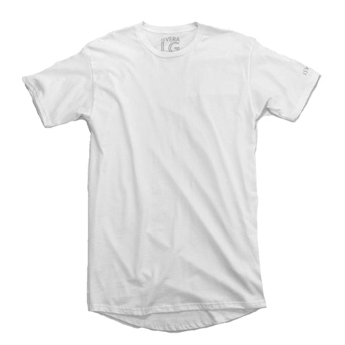 ISVERA LONG BLANK URBAN TSHIRT // WHITE