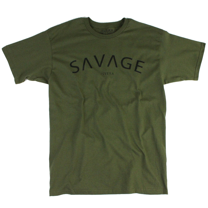 ISVERA SAVAGE TSHIRT // ARMY GREEN