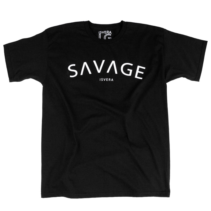 ISVERA SAVAGE TSHIRT // BLACK