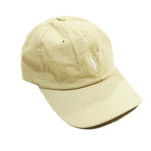 ISVERA ISV LOGO DAD HAT // CREAM