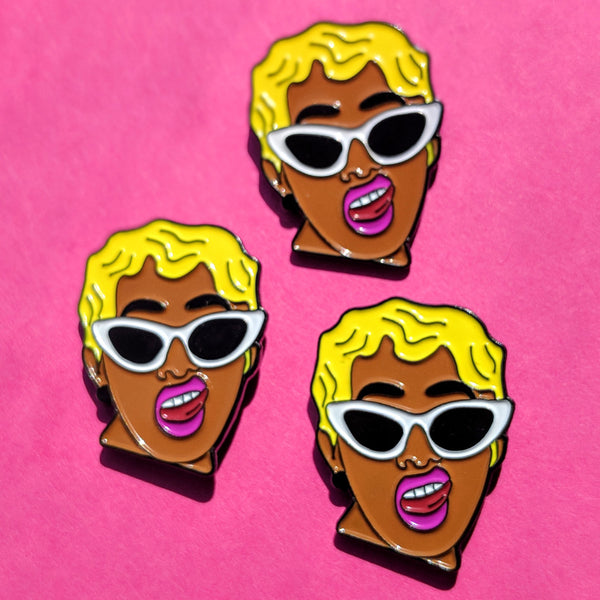Cardi B Invasion Of Privacy Inspired Pin