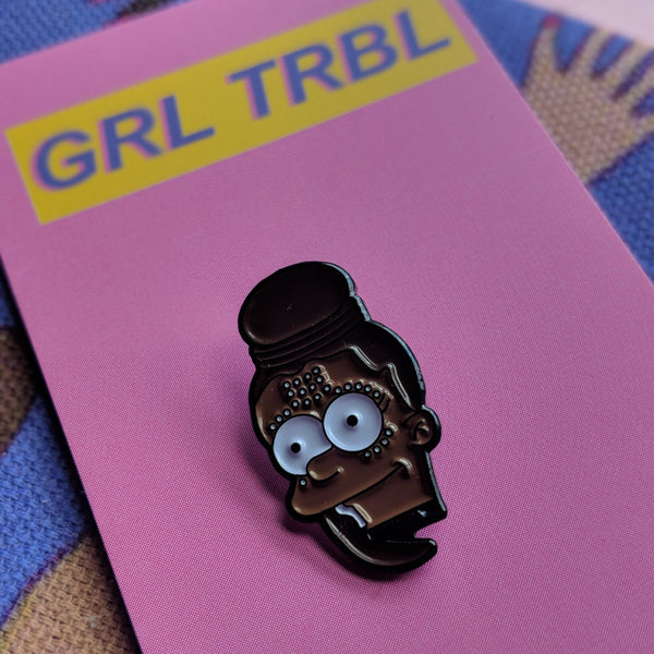 Shuri Simpson Black Panther Pin