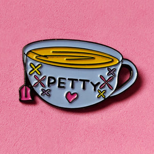 Petty Tea Cup Pin