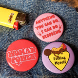 Feminist Button Pack Of 3