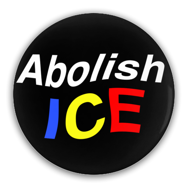 Abolish Ice Button 5-Pack 2.25""