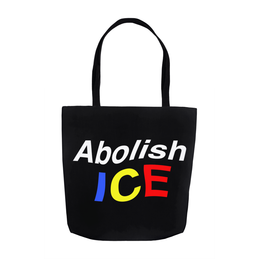 Abolish ICE Tote Bag 13x13 Inches