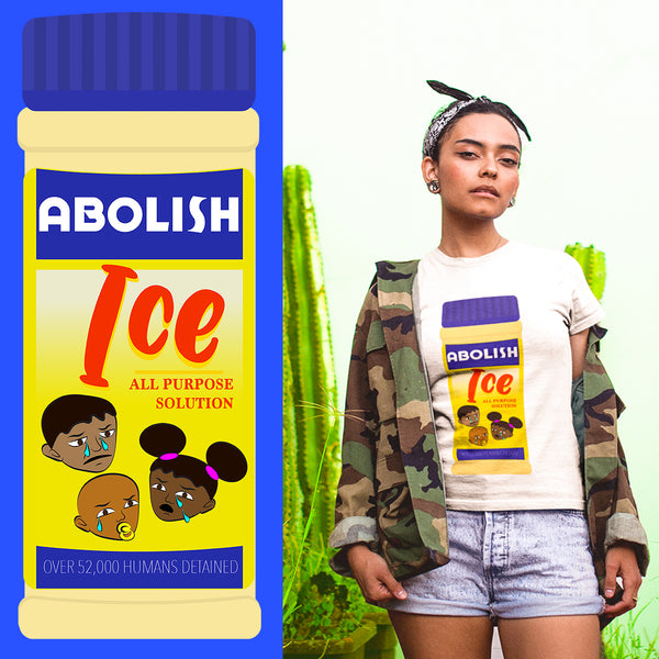 Abolish ICE 'Goya Adobo' T-Shirt