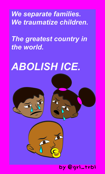 Abolish Ice Free Printable Poster Downloads