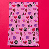 GIRLS! GIRLS! GIRLS! - Notecard Pack of 3