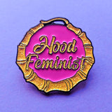 Slightly Imperfect Hood Feminist Pin