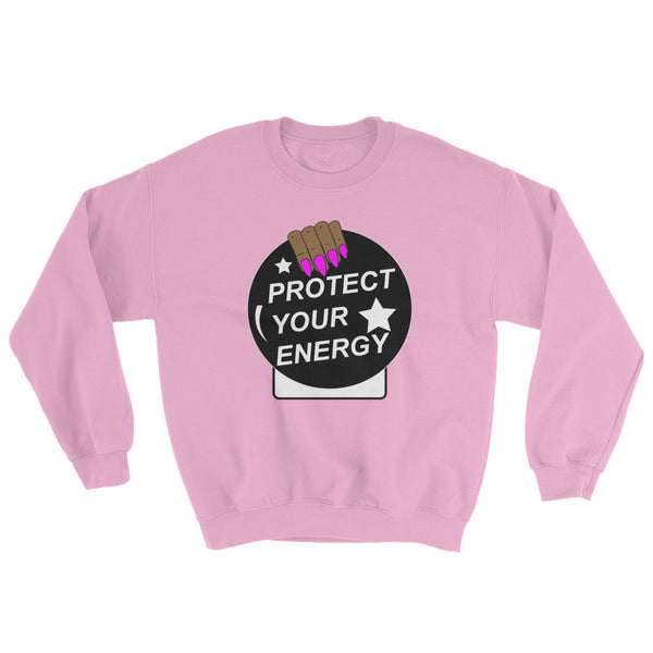 Protect Your Energy Crystal Ball Sweatshirt - Morena
