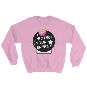 Protect Your Energy Crystal Ball Sweatshirt - Blanca
