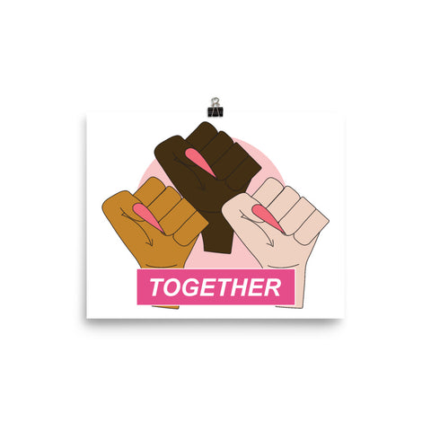 "The Solidarity Poster 8x10"" Print"