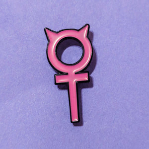 Venus Devil Pin