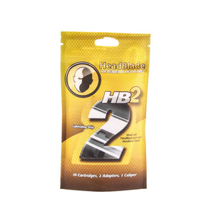 HeadBlade HB2 Double Blade - 10 pack